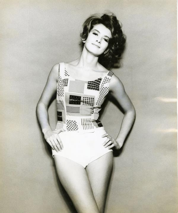 Modeling in her early 20s. Courtesy of Martha Stewart